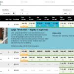 public booking screen (choose unit/s)